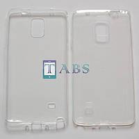 Чехол силиконовый Samsung Galaxy Note 4 N910 белый