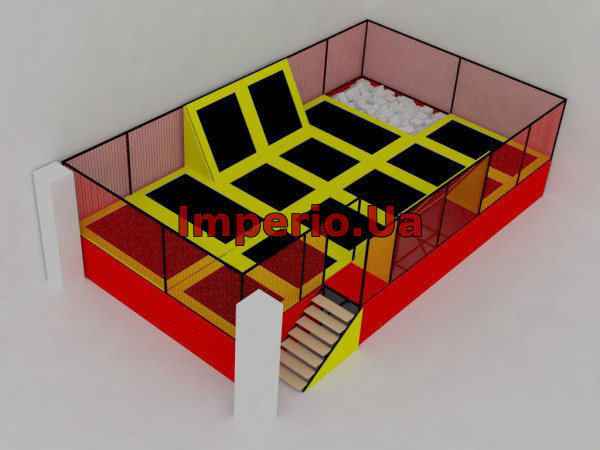 Батутная арена 11.5х6.5х3