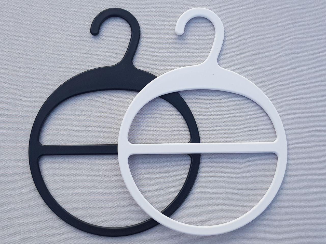 Плечики вешалки пластмассовые V-AS13  для аксессуаров в двух цветах