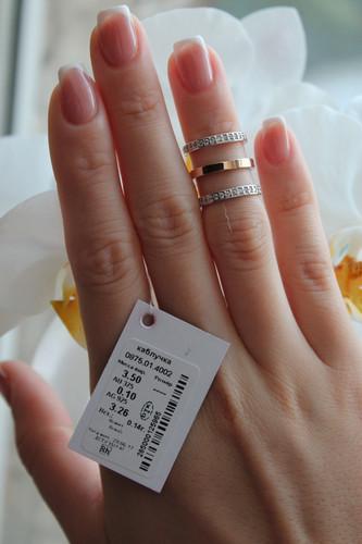 Тройное Серебряное кольцо Арт.875