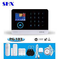 Беспроводная GSM WiFi сигнализация PG-103 поддержка rfid