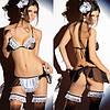 Эротическое бельё униформа служанки горничной SEX - Фото