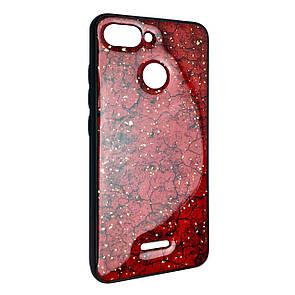 Чехол-накладка DK-Case Silicone Form Resin Lava Gold для Xiaomi Redmi 6 (red)