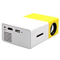 Проектор Led Projector YG300 мультимедийный с динамиком D10015