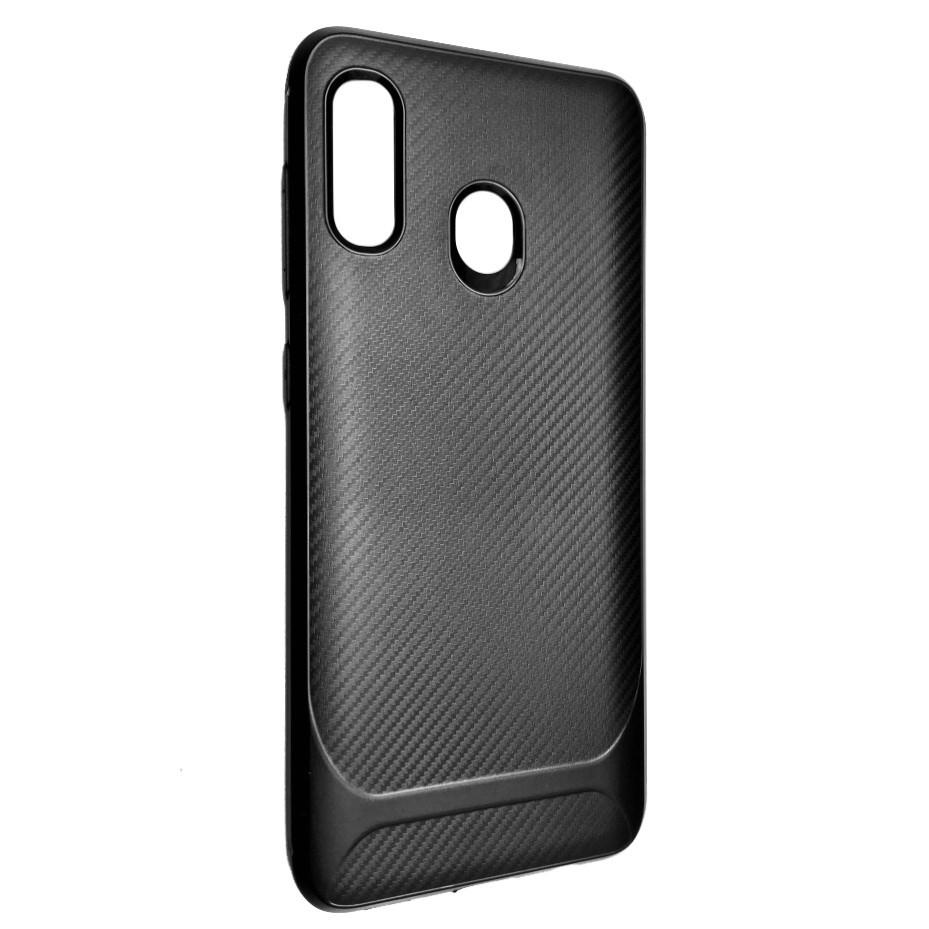 Чехол Silicone SGP Carbon Samsung A20 / A30 (black)