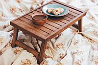 Столик для завтрака в постель из дуба Венеция, фото 1