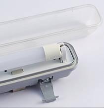 Промышленный светильник под LED лампу T8x2 (0.6m)