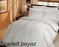 Постельное белье, евро комплект, Турция,Altinbasak scarlet beyaz
