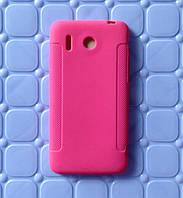 Чехол накладка для Huawei G510 U8951D розовый