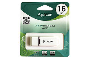 USB-флэш-накопитель APACER 16GB AH223 White (AP16GAH223W-1)