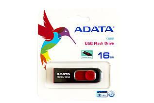 USB-флэш-накопитель A-DATA 16GB C008 Black/Red