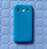 Чехол накладка для Huawei G510 U8951D голубой