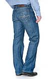 Мужские джинсы Franco Benussi 1207 синие, фото 2