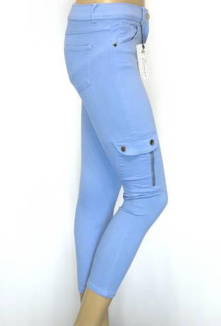 Жіночі штани з накладними кишенями, фото 2