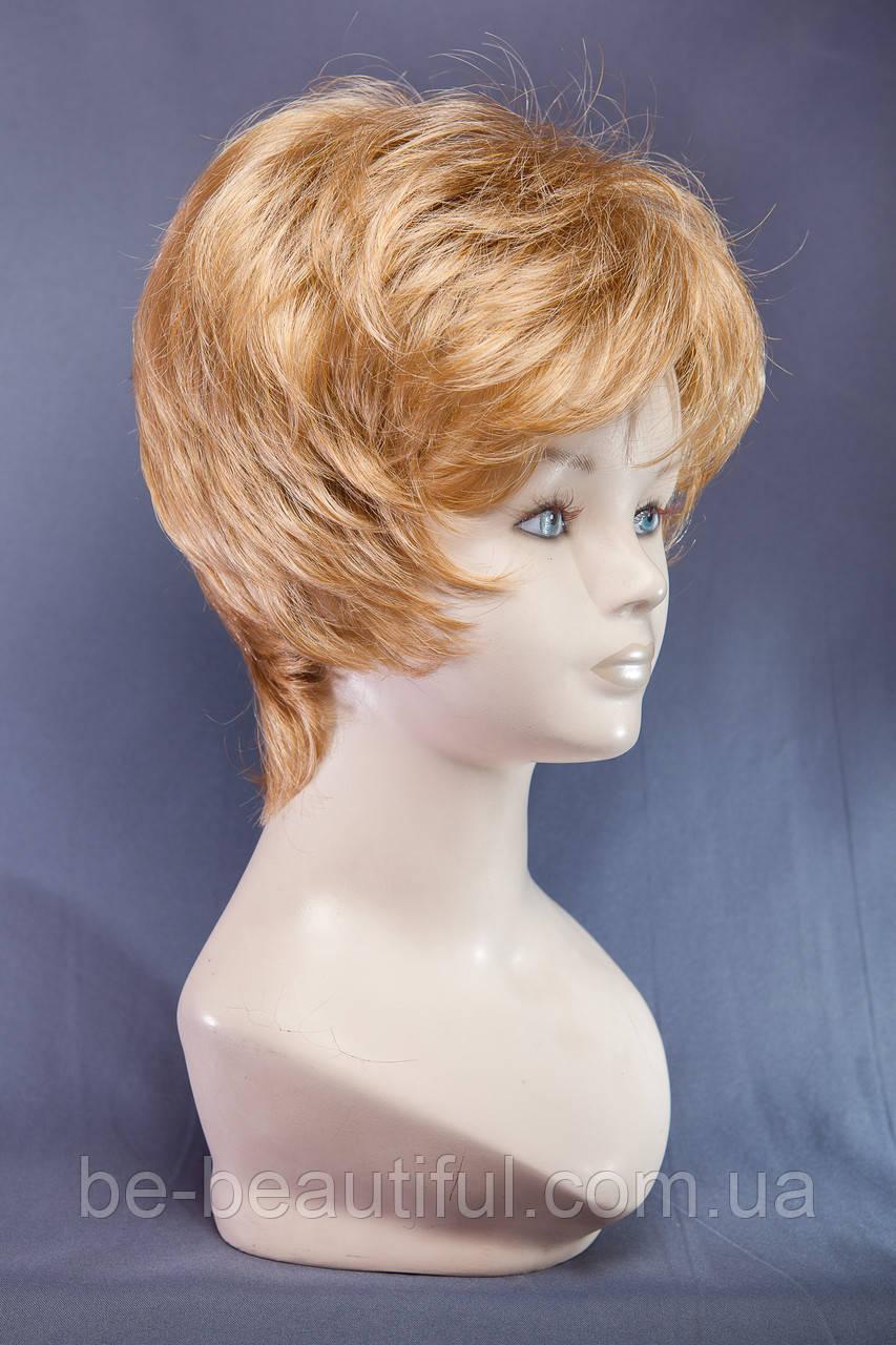 Короткие парики №13.Цвет пшеничный