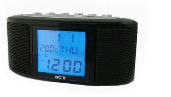 Часы с радио  783, радио FM, USB, SD