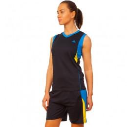 Форма баскетбольная женская LD-8295W (полиэстер, р-р L-2XL(44-50), цвета в ассортименте)Z