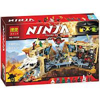 """Конструктор Bela Ninja 10530 """"Хаос в Х-пещере Самураев"""" 1310 дет."""