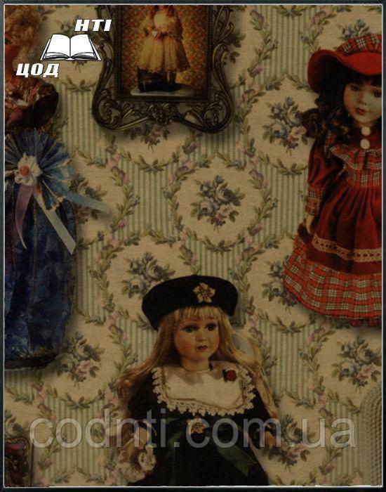 """Крафт-бумага с печатью """"Куклы"""""""