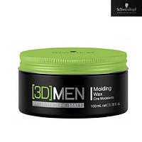 Schwarzkopf Professional [3D] MEN Molding Wax Моделирующий воск для волос 100 ml