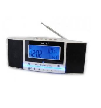 Часы 792 LCD, радио FM, USB, SD , фото 2