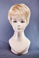 Короткие парики №5,цвет мелирование пшеничный с белым