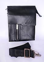 Брендовая мужская сумка Langsa! Кожа. 23 х 29,5