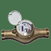 Счетчик воды многоструйный полумокроходные (домовые) 420PC  Q3 6,3 DN 25