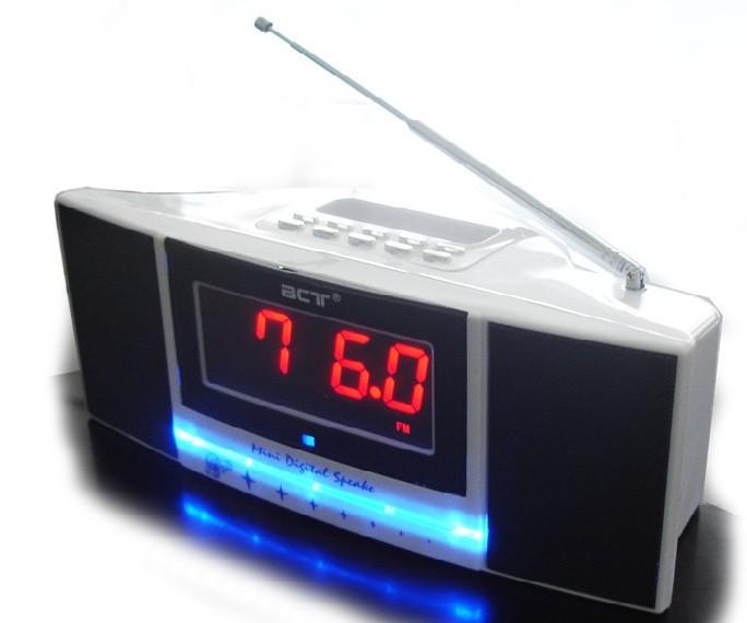 Часы 792 L LЕD, радио FM, USB, SD