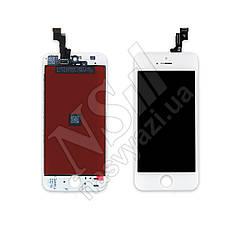 Дисплей APPLE iPhone 5S с белым тачскрином