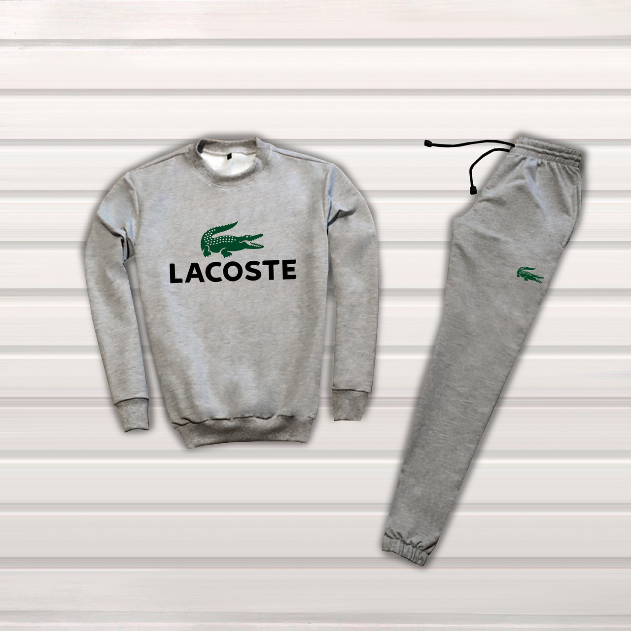 33bb87ea Мужской спортивный костюм, чоловічий спортивний костюм Lacoste S1140,  Реплика - Интернет-магазин