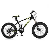 Детский спортивный велосипед 20 Д EB20HIGHPOWER 2.0 A20.2 черный