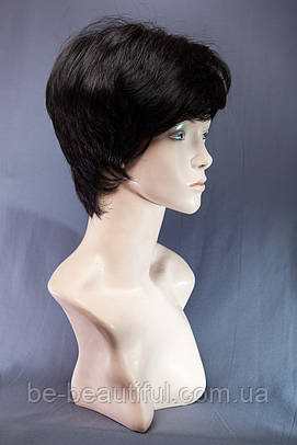 Короткие парики №5,цвет черный