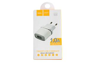 Сетевое зарядное устройство Hoco C11 Single USB Charger 1.0A
