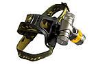 Налобный велофонарик BL-Н820-Т6+светофильтры, фото 4
