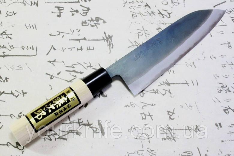 Нож кухонный японский Tojiro Santoku F-698/F-701A 165 мм Shirogami