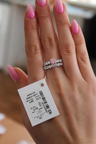 Серебряное кольцо Арт.835