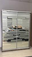 Шкаф купе Элит А-1542  Размер 1500*600*2400мм профиль серебро
