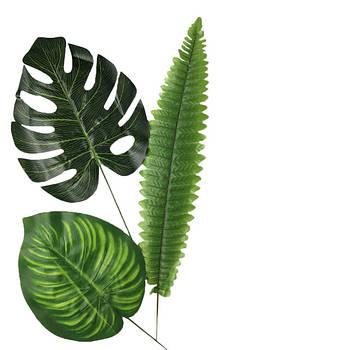 Искусственные листья, ветки, добавки и лианы