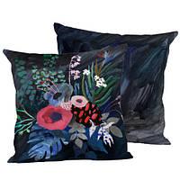 Подушка декоративная Цветки 45х45 см (45IS_URB005)