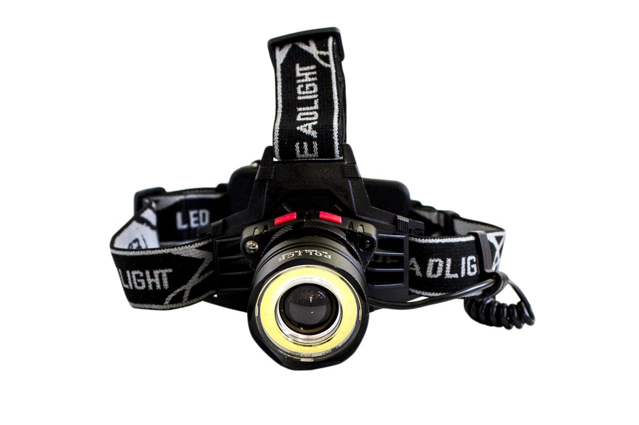 Налобный фонарик BL-8005-Т6+СОВ