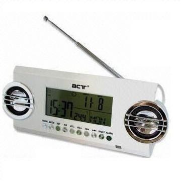 Часы 791 LCD, радио FM, USB, SD