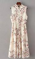 Элегантное платье длинной миди, фото 1