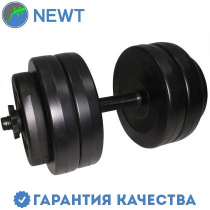 Гантель наборная композитная в пластиковой оболочке Newt Rock pro 13 кг