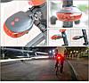 Вело фонарь велосипедная лазерная дорожка, фото 2