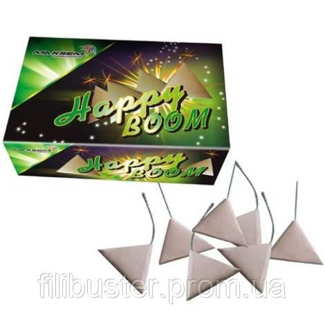 Петарды Maxsem Triangle Cracker Happy Boom 100 шт P1005