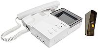 Комплект  видеодомофона Kenwei KW-4HP-TN + KW-139MS