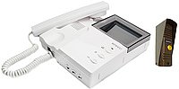 Комплект  видеодомофона Kenwei KW-4HP-TN + KW-139M