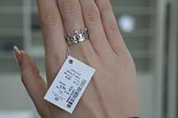 Серебряное кольцо Арт.824