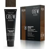 Краска для волос 4-5 уровень American Crew Precision Blend Medium Natural 3x40 ml